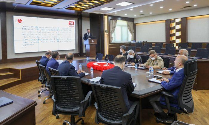 Ağrı'da Acil Çağrı Hizmetleri İl Koordinasyon toplantısı düzenlendi