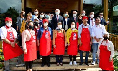 Ahi Kadınları, Yöresel Yemek Yarışmasında hünerlerini sergiledi