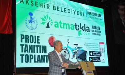 """Akşehir Belediyesinden Türkiye'de bir ilk: """"atmatıkla"""""""