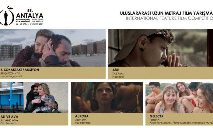 Altın Portakal Film Festivali, Uluslararası Uzun Metraj Film Yarışması'nda yer alacak filmler ve jüri üyeleri açıklandı