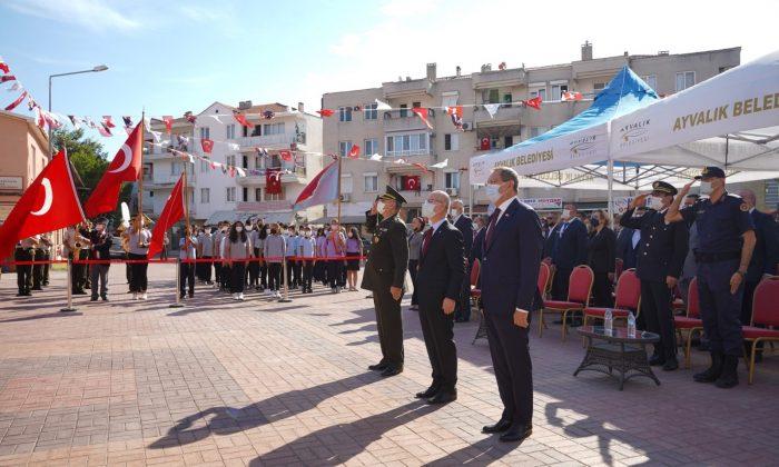 Ayvalık'ta Altınova'nın kurtuluşunun 99. yıldönümü coşkusu