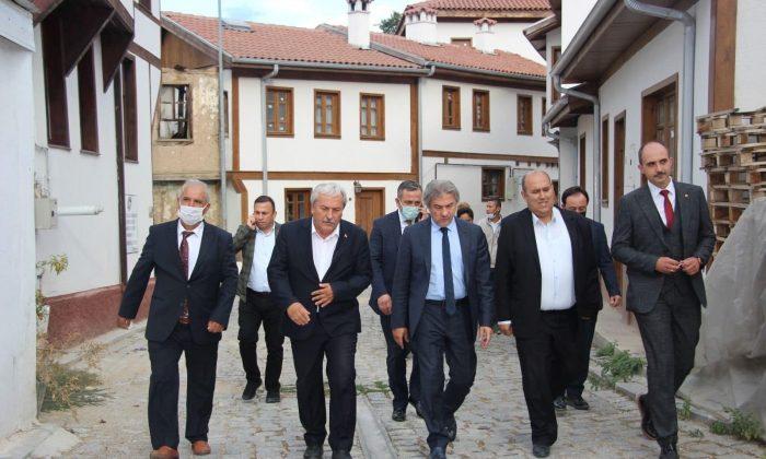 Bakan Yardımcısı Demircan'dan Osmaneli'ne destek sözü