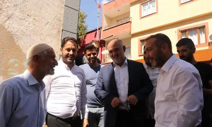 """Başkan Aydın: """"Diyarbakır hizmeti AK Parti ile gördü"""""""