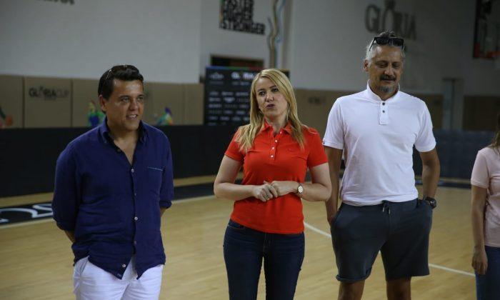 Başkan Doğa'dan Y. Merkezefendi Belediyesi Denizli Baskete moral ziyareti