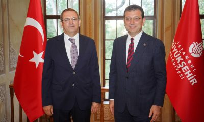 Başkan Ergin'den, Ekrem İmamoğlu'na ziyaret