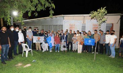 Başkan Güder, gençlerle buluştu