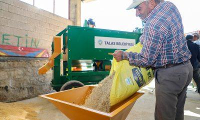 Başkan Yalçın'ın tarıma desteği sürüyor