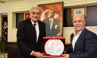 Bozbey'den, Başkan Bakkalcıoğlu'na ziyaret