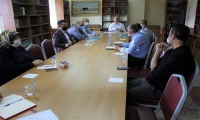 Camiler ve Din Görevlileri Haftası istişare toplantısı yapıldı