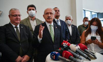 CHP Lideri Kılıçdaroğlu şehit aileleri ve gazilerle bir araya geldi