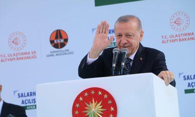 """Cumhurbaşkanı Erdoğan: """"Rant hırsına, cehalete, bencilliğe dayalı hoyratlıkların buralarda tekrar yaşanmasına asla müsaade etmeyeceğiz"""""""