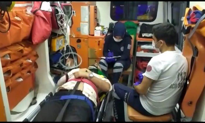 E-5 Karayolu'nda feci kaza: 5 yaralı