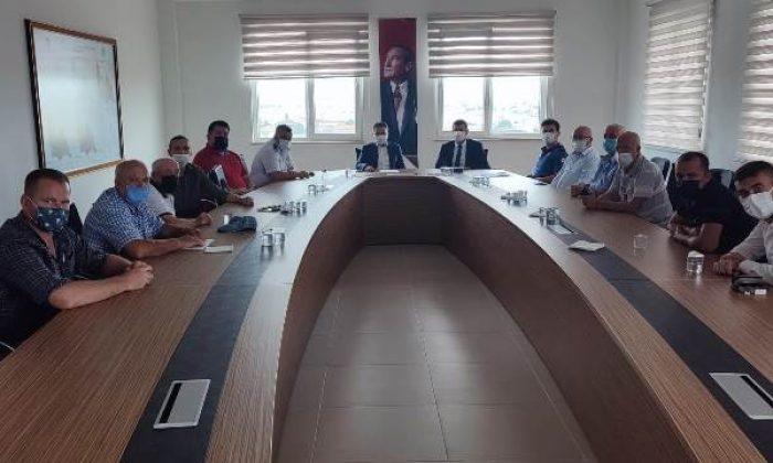 Ergene Spor Güvenlik Kurulu Toplantısı gerçekleştirildi