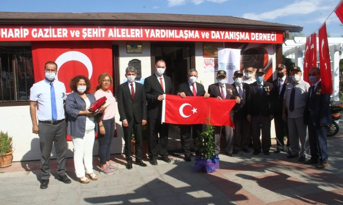 Fethiye Cumhuriyet Başsavcısı Bingül, gazileri unutmadı