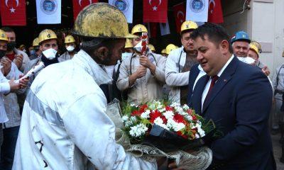 GMİS yönetim kurulu, Üzülmez Müessesesi'nde madenciyi bilgilendirdi