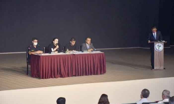 'Güvenli Okul, Güvenli Eğitim' toplantısı yapıldı