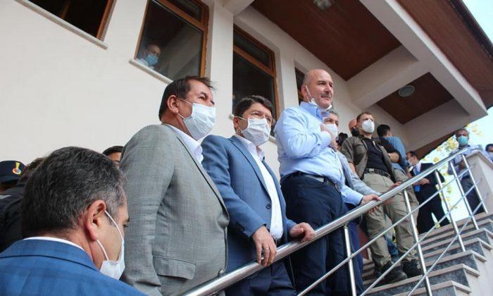 """İçişleri Bakanı Soylu: """"Sel afetinin bilançosu 3,5 milyar TL"""""""