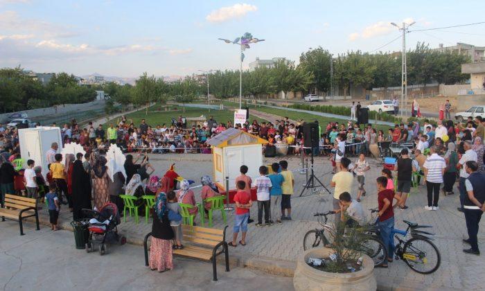 Kahta'da çocuklara özel sosyal etkinlik