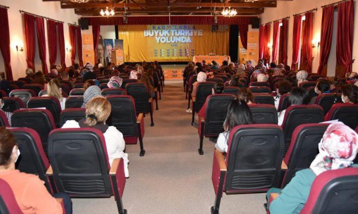 Kars'ta AK kadınlar buluşması