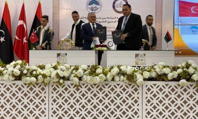 Kayseri ile Misurata arasında 'Kardeş Şehir' imzaları atıldı