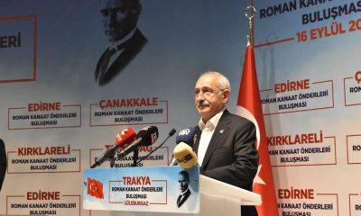Kılıçdaroğlu, Roman vatandaşlarla bir araya geldi