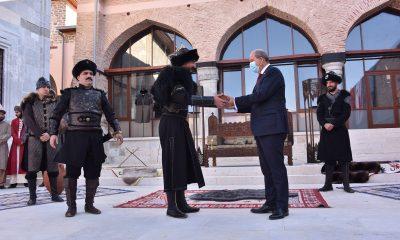 Konya'dan gönderilen Berat Söğüt'te teslim alındı