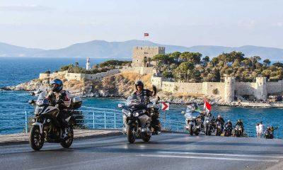 Kuşadası'nda motosiklet korteji düzenlendi