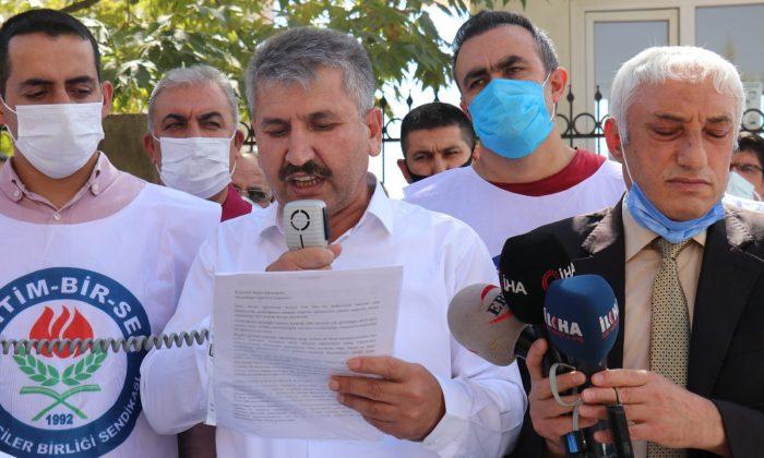 Malatya'da öğretmenlere yapılan şiddete tepki