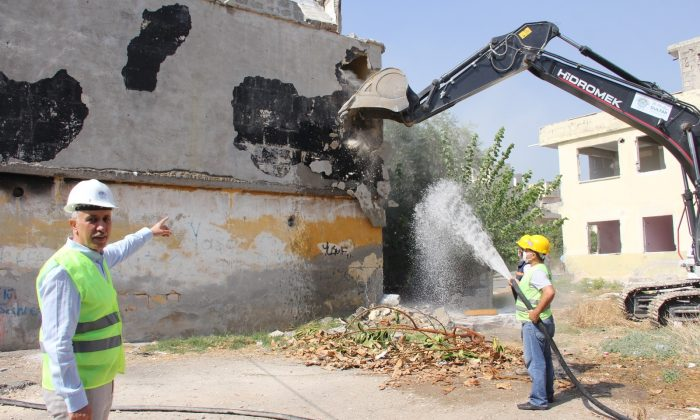 Mersin kent merkezi kentsel dönüşümle değişiyor