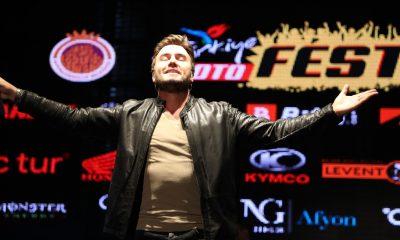 MotoFest Afyonkarahisar heyecanı Mustafa Ceceli konseri ile başladı