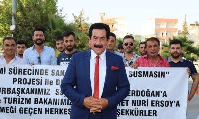 MÜZSAN Adıyaman üyeleri Cumhurbaşkanı Erdoğan'a teşekkür etti