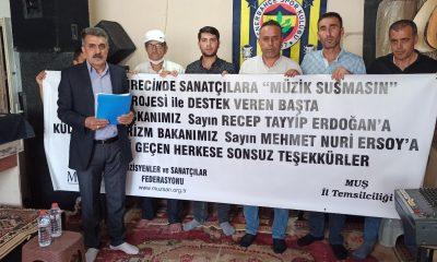 MÜZSAN üyelerinden Cumhurbaşkanı Erdoğan'a teşekkür