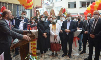 Niksar Belediyespor Sosyal Tesisleri açıldı