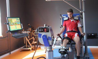 Olimpik sporcular artık Atatürk Üniversitesi'nde ölçüm ve testten geçecek