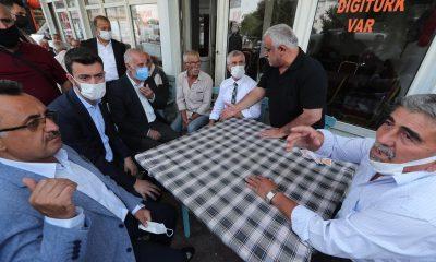 Pandemide zor günler geçiren esnafa Tahmazoğlu morali