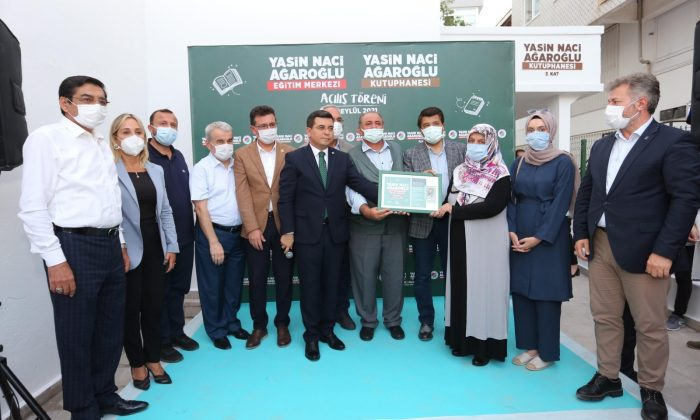 Şehit Yasin Naci Ağaroğlu kütüphanesi ve eğitim merkezi hizmete açıldı