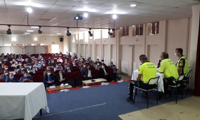 Servis şoförlerine seminer