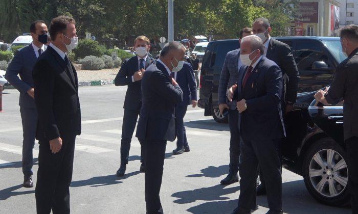 """TBMM Başkanı Şentop: """"Trakya'da Çerkezköy OSB'sinden sonra ikinci büyük organize sanayi bölgesi Kırklareli OSB olacaktır"""""""