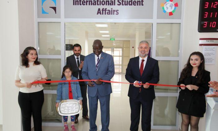 Tokat'ta uluslararası öğrenci kayıt ofisi açıldı