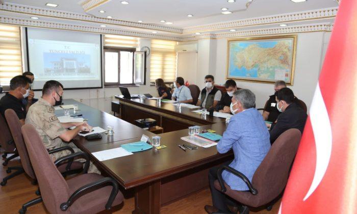 Tunceli'de Acil Çağrı Hizmetleri İl Koordinasyon Kurulu toplantısı yapıldı