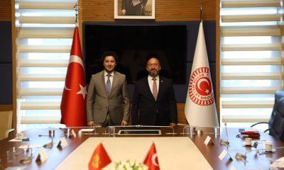 """Türkiye Karadağ Parlamentolararası Dostluk Grubu Başkanı Kavuncu: """"İki ülke arasındaki ilişkiler güçlenerek devam edecek"""""""