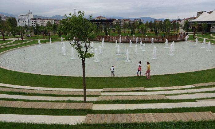 Türkiye'nin ilk spor temalı millet bahçesi hizmete açıldı