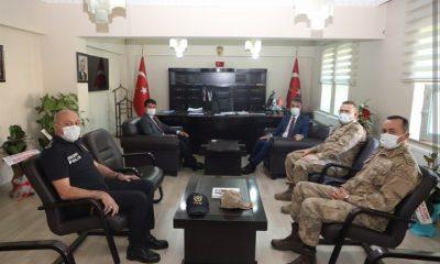 Vali Çağatay'dan Kaymakam Cankaloğlu'na ziyaret