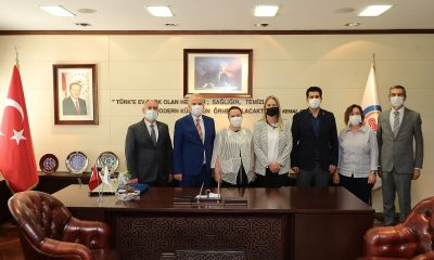 Yerel Yönetimler Başkan Yardımcısı Çankırı'dan Başkan Zolan'a ziyaret