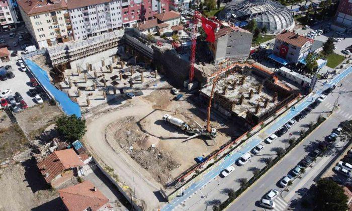 30 milyon TL'ye mal olacak projenin temeli atıldı