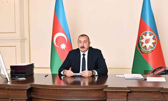 """Aliyev: """"Ermenistan, İran'la birlikte Avrupa'ya uyuşturucu kaçakçılığı yapmak için işgal altındaki Azerbaycan topraklarını kullandı"""""""