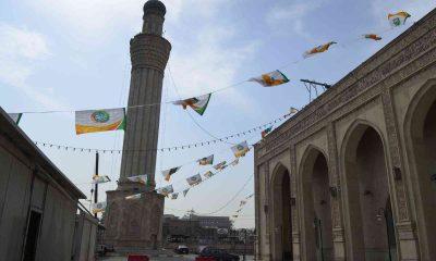 Bağdatlılar TİKA'nın restore ettiği Şeyh Abdulkadir Geylani Camii ve Türbesi'nin açılışı için Cumhurbaşkanı Erdoğan'ı bekliyor