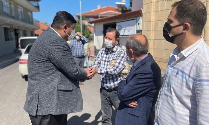 Başkan Oğuz köy ziyaretlerini sürdürüyor