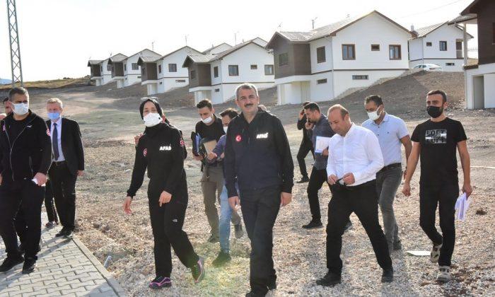 """Deprem konutlarında """"teslim"""" müjdesi"""