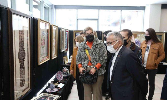 E-38 Sanat Sergisi açıldı